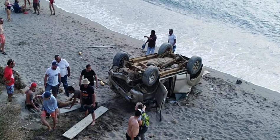 Accidente La Guajira
