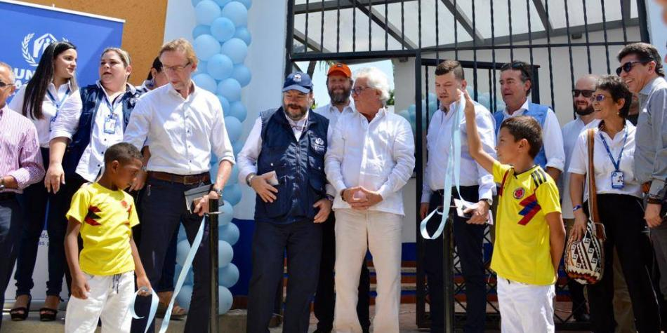 Casa para refugiados y desplazados por la violencia en Soledad