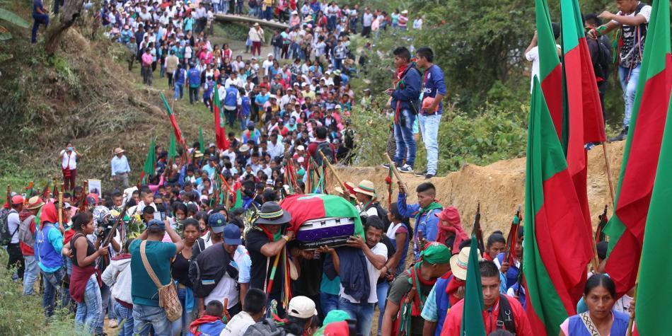 170 millones de pesos por cabecillas de ataque contra indígenas