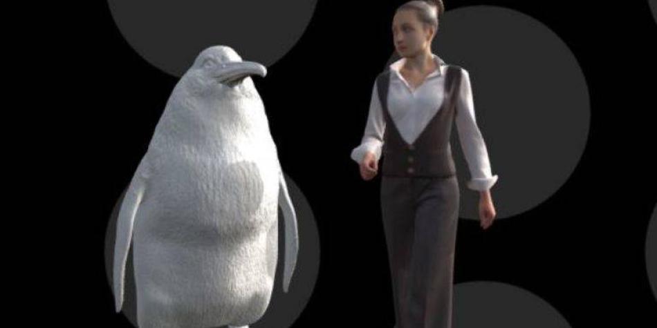 Así era el pingüino monstruoso descubierto en Nueva Zelanda