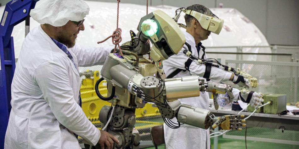 El 'terminator' ruso inicia su viaje al espacio