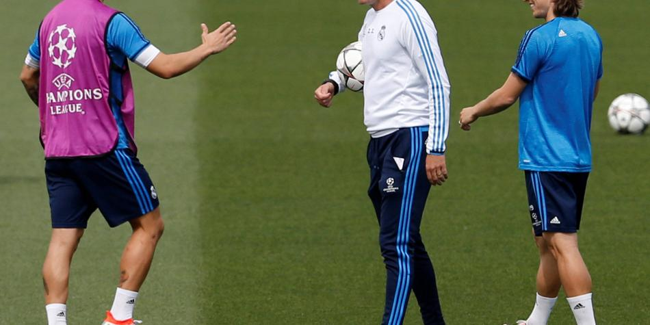 ¿La tercera será la vencida? James y Zidane, juntos otra vez