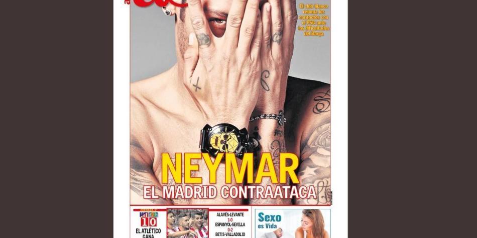 Real Madrid se lanzaría nuevamente por Neymar