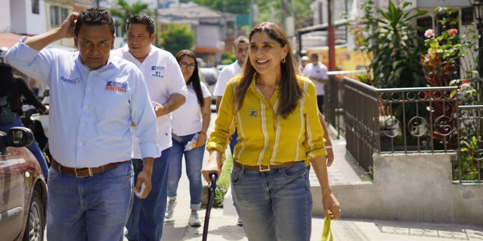 La sobreviviente a dos cánceres que quiere ser alcaldesa de Pereira