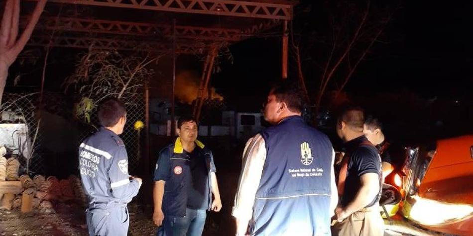 Alerta en Cúcuta por incendio que se registra en Venezuela