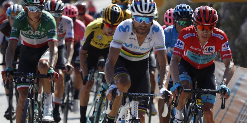 Las razones por las que López perdió el liderato de la Vuelta a España