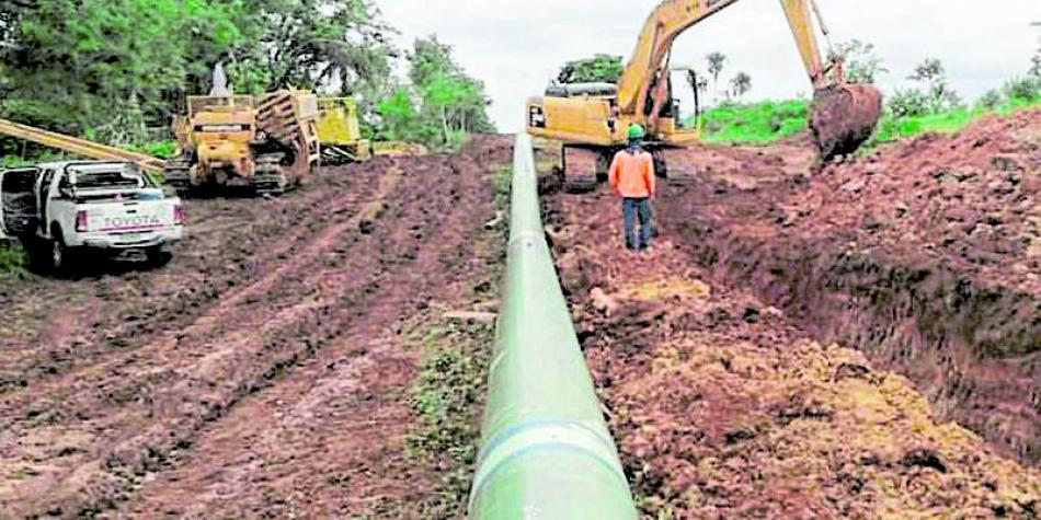 Más infraestructura para mover el gas