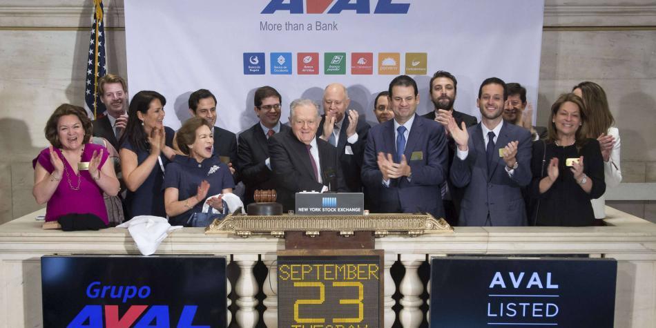 Grupo Aval obtiene de inversionistas extranjeros US$ 1.000 millones