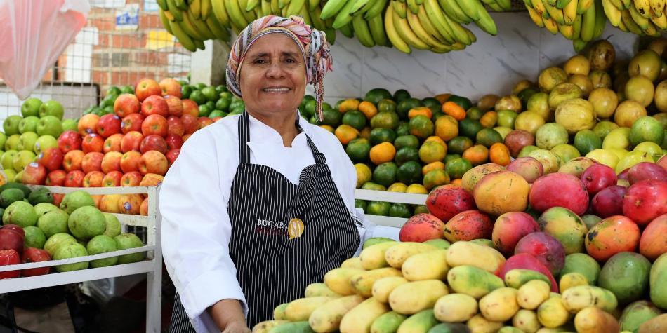 Chori Agamez, cocinera tradicional