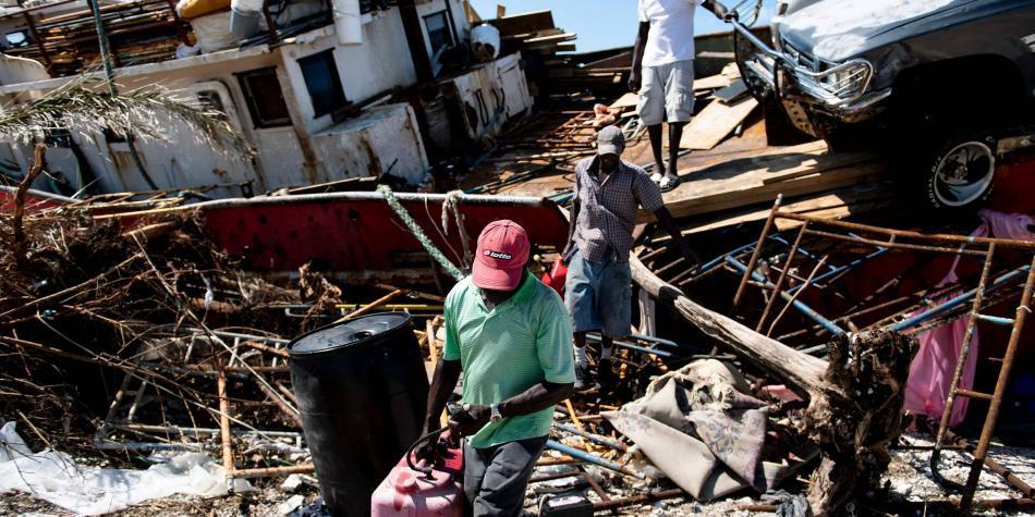 Tras demoledor paso de Dorian, Bahamas enfrenta crisis de desplazados