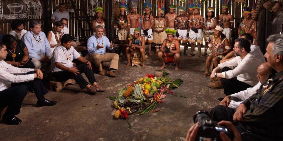 En Leticia hicieron un gran pacto para proteger el Amazonas