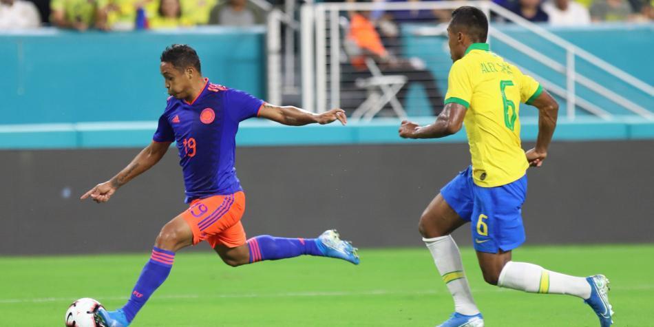 Visita de la selección de Brasil no sería autorizada en Colombia