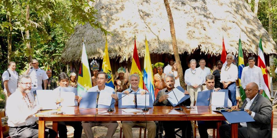 El BID facilitará financiamento para impulsar el Pacto de Leticia