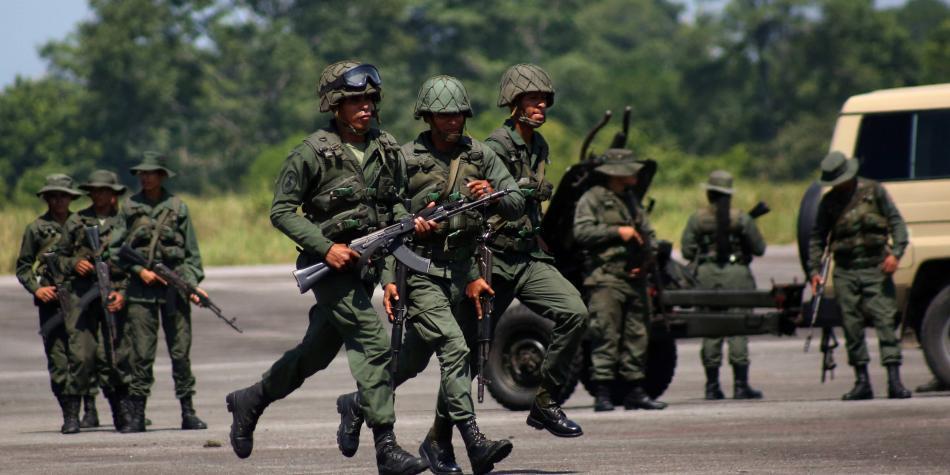 La tensa calma en la frontera por ejercicios militares de Venezuela