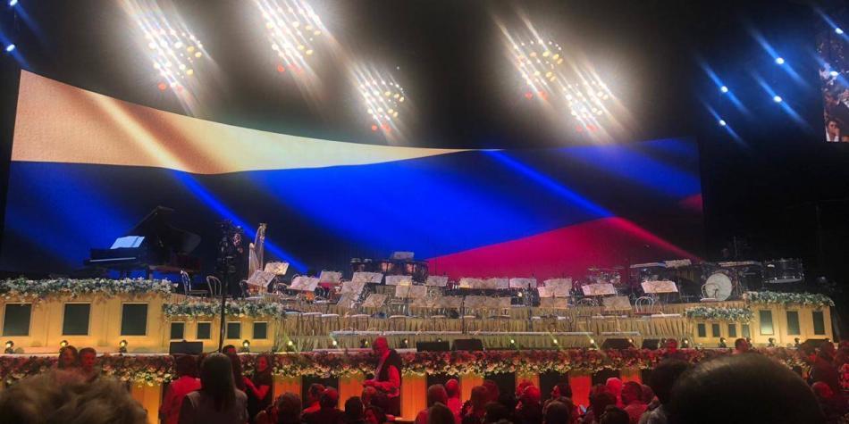 Una falla de sonido interrumpe el esperado concierto de André Rieu