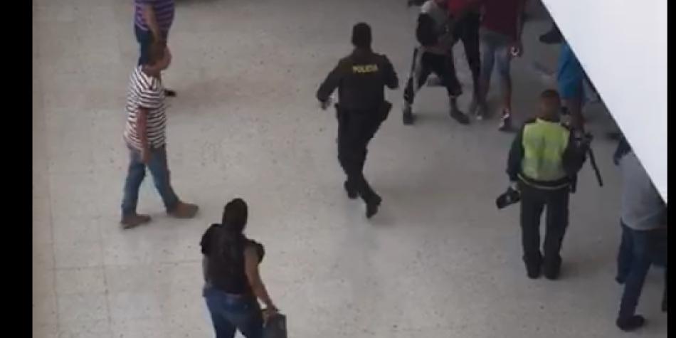 Incidente con detenidos en Palacio de Justicia de Cali
