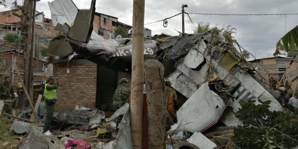 Tragedia en Popayán: 7 personas murieron tras desplomarse una avioneta