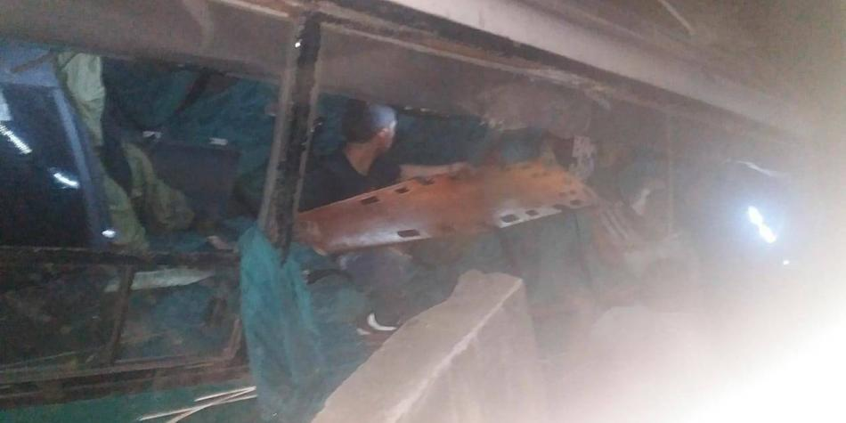 Accidente bus Ibagué
