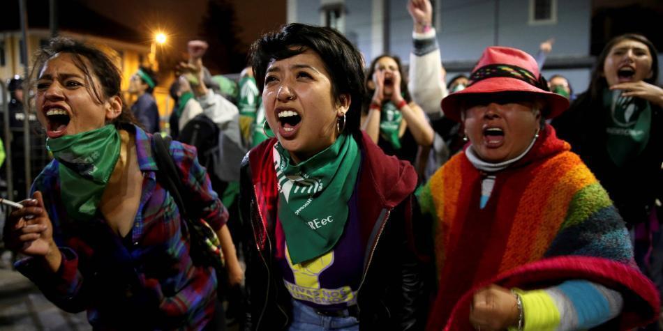 Congreso de Ecuador rechaza despenalizar el aborto en cualquier caso