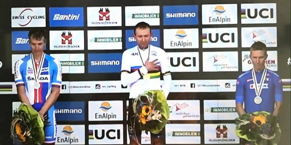 Leonardo Páez, campeón mundial de maratón MTB