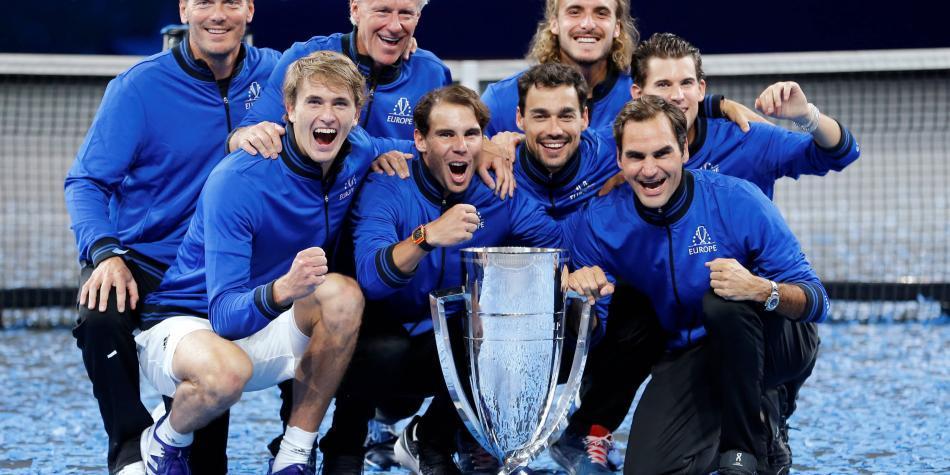 Europa ganó la tercera Laver Cup y mantuvo su hegemonía en el torneo