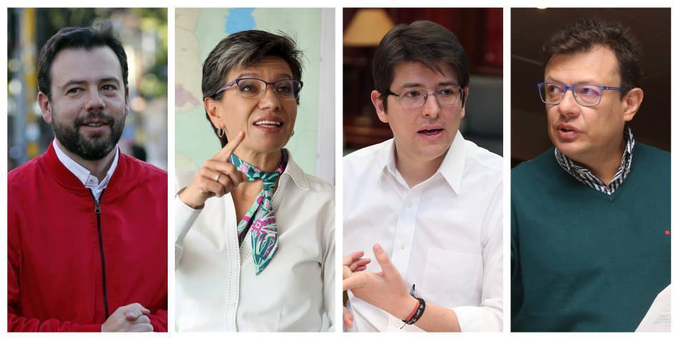 Candidatos a la Alcaldía, encuesta Yanhaas