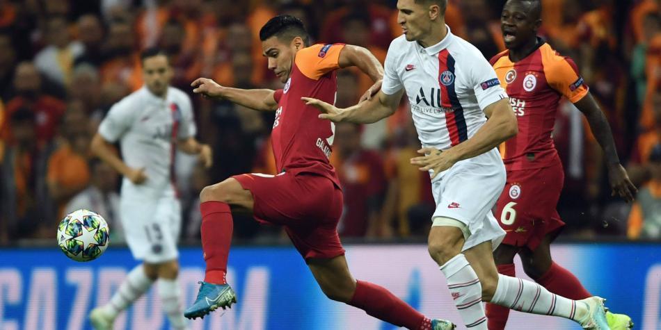 Radamel Falcao García volvió a jugar con el Galatasaray