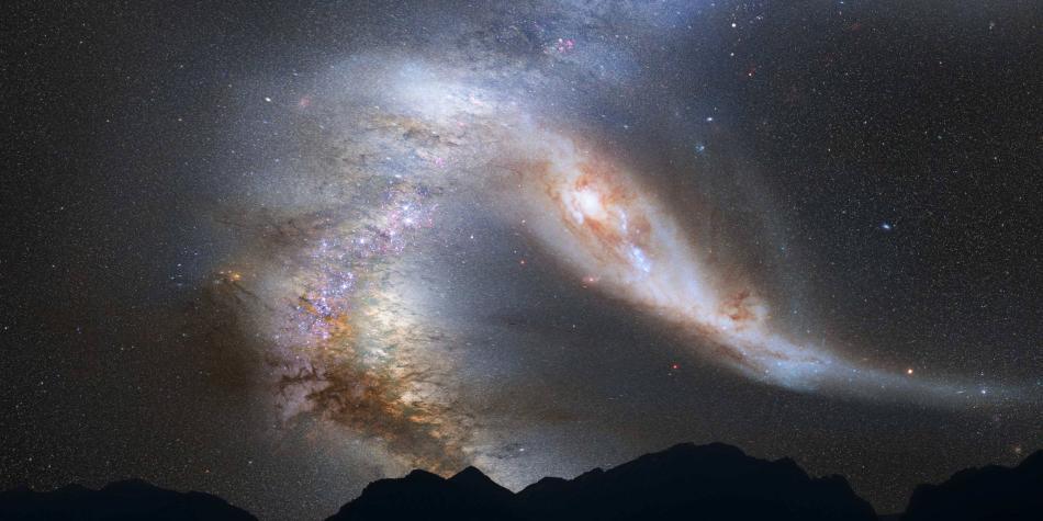 Andrómeda, la galaxia que nos destruirá en 4.000 millones de años
