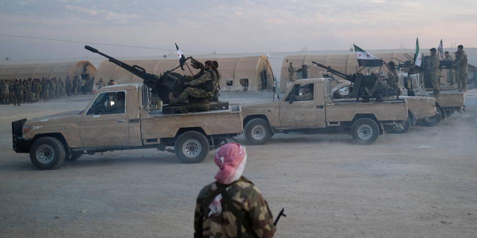 Ejército sirio en Turquía