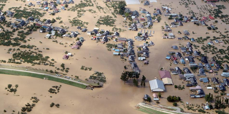 Al menos 18 muertos y 13 desaparecidos en Japón por paso de tifón
