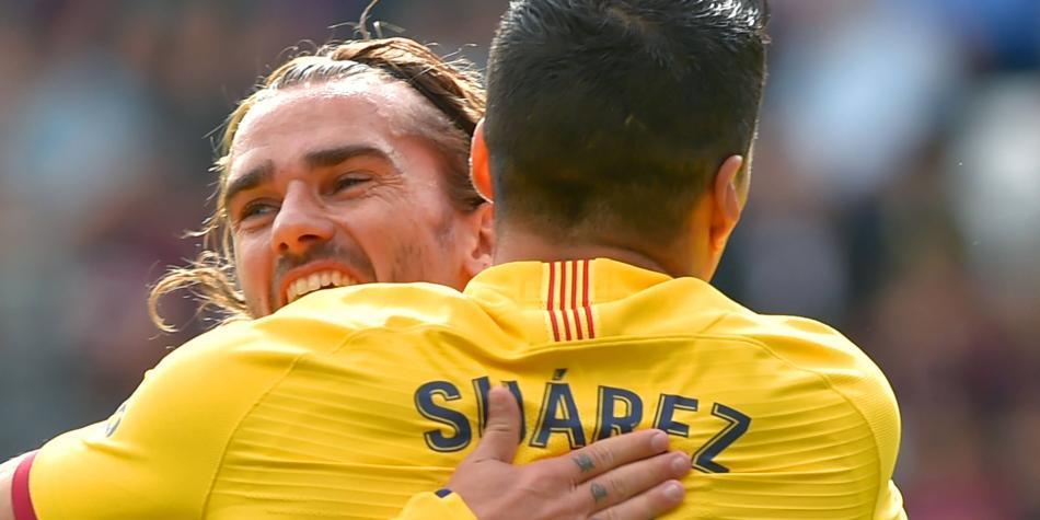 ¡Aparecieron sus figuras! Barcelona goleó 0-3 al Éibar