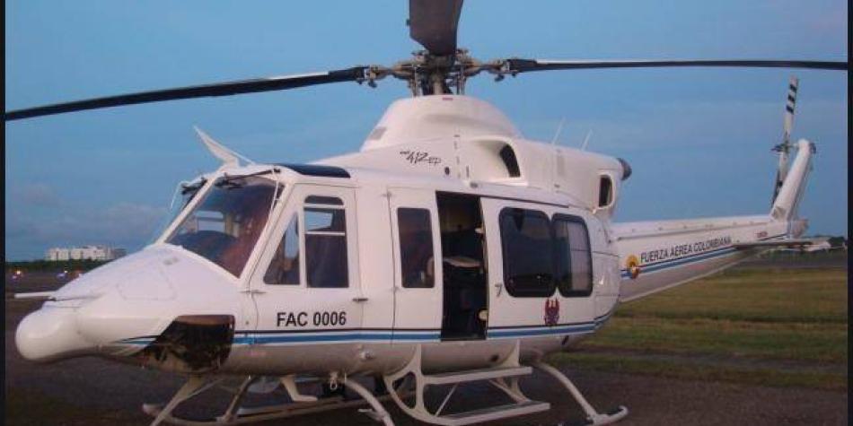 Helicóptero perdido en Cundinamarca