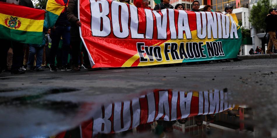 Se radicaliza paro contra Evo Morales para forzar su dimisión