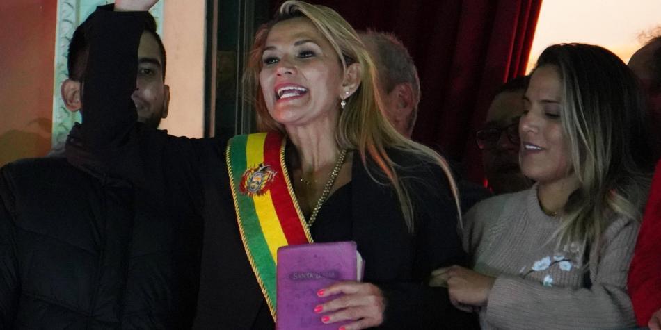 Colombia reconoce a Jeanine Áñez Chávez como presidenta de Bolivia