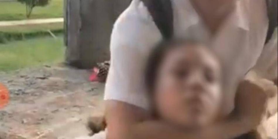 Estudiantes 'juegan' a asfixiarse con peligrosa maniobra en Santander