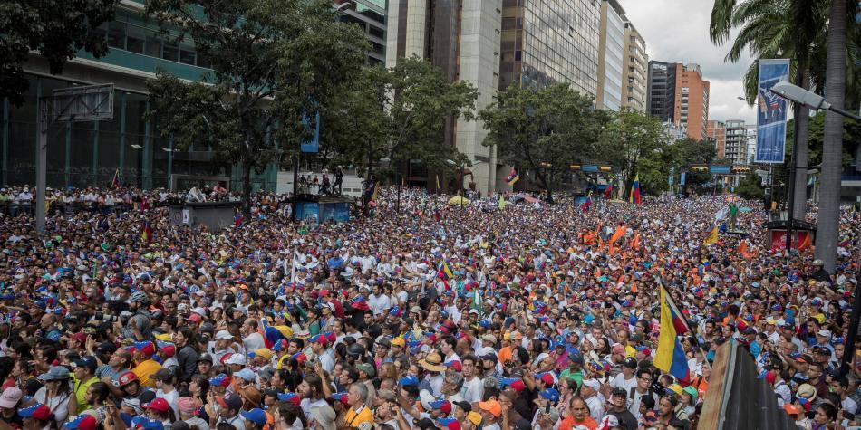 Estos son los motivos de los venezolanos para protestar