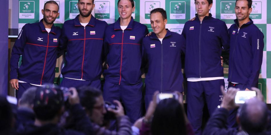 Sencillos, la evidente debilidad de Colombia para la Copa Davis