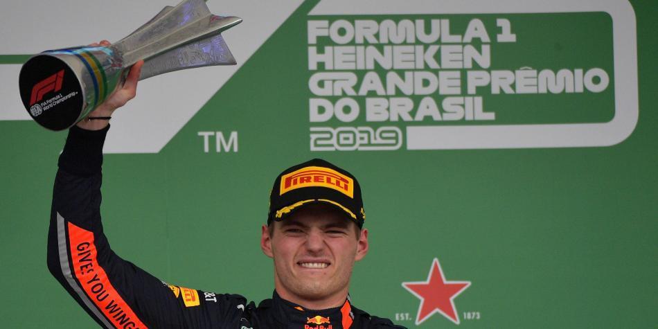 Verstappen le dio un recital a Hamilton en el GP de Brasil