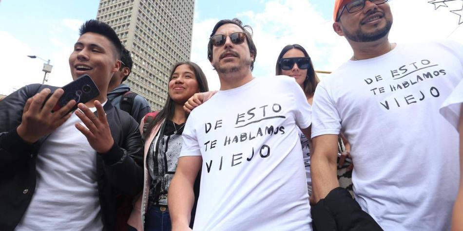 'Estamos cansados de que nos roben': Alejandro Riaño
