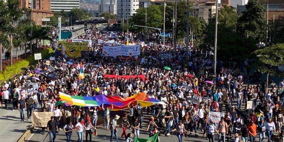 Así serán las protestas de este 27 de noviembre en Medellín