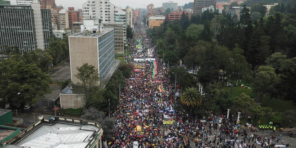 Así registró la prensa internacional el paro nacional en Colombia