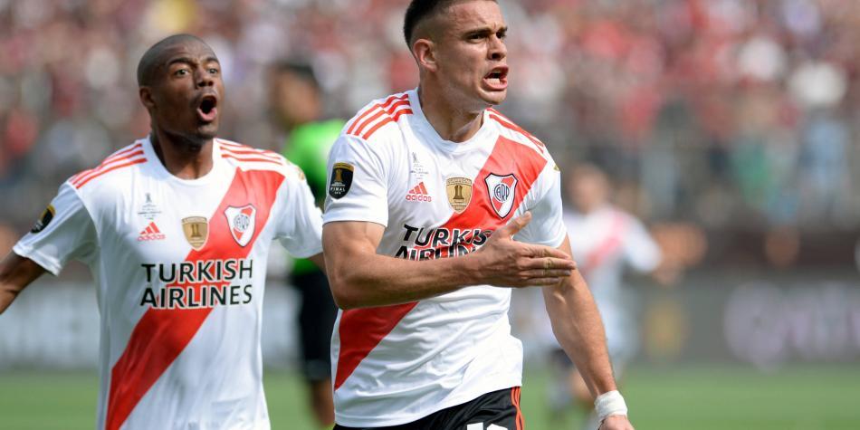 Otro colombiano anotó en el mundo: el doblete de Santos Borré