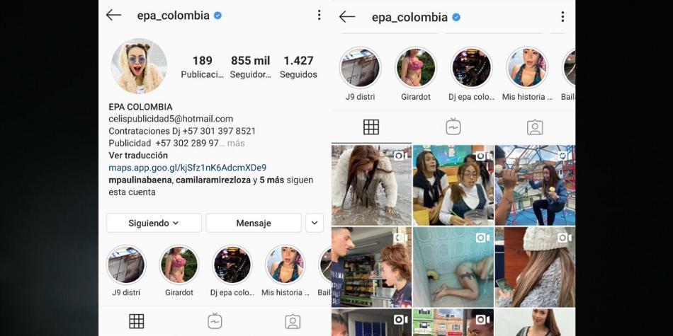 ¿Qué pasó con las redes sociales de 'Epa Colombia' y Álvaro Uribe?