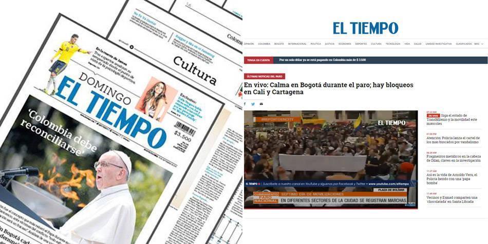 EL TIEMPO, el medio más consultado por líderes de opinión en el país