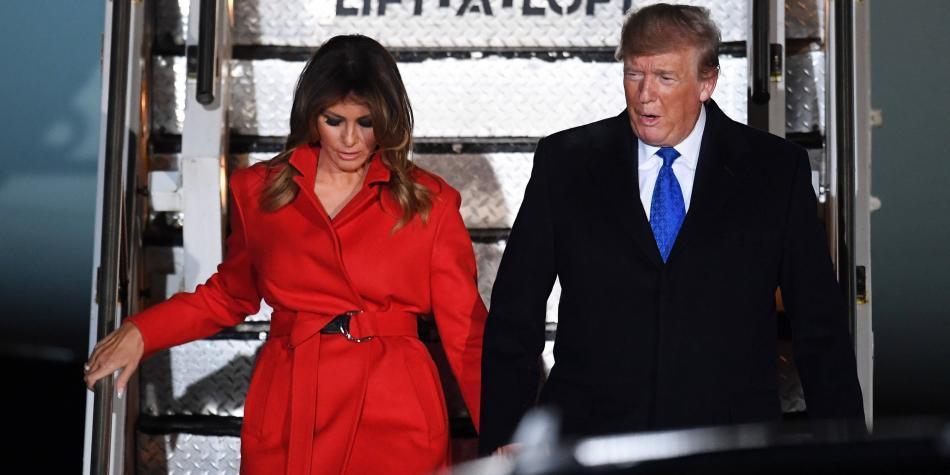 Un dormitorio aparte, la vida de Melania Trump en la Casa Blanca
