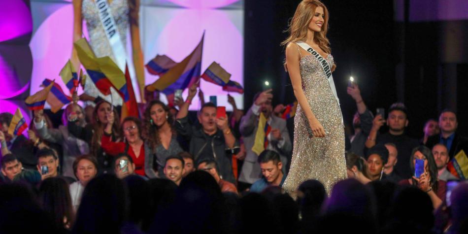 Gabriela Tafur gritó: ¡Colombia! y brilla en Miss Universo