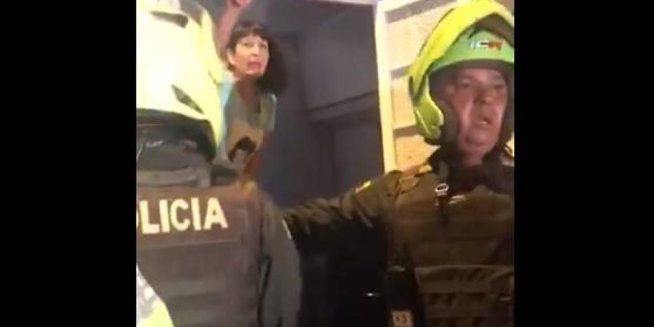 Periodistas de Medellín denuncian abuso de fuerza de la Policía
