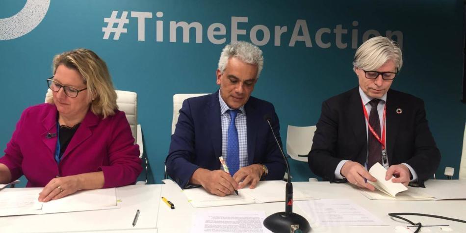 ¡Lo lograron!: el Gobierno firmó el Acuerdo de Escazú