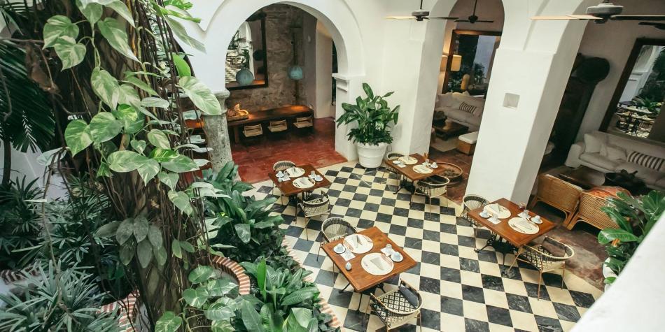 Amarla, santuario de tranquilidad en Cartagena