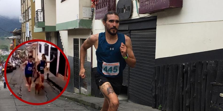 Marca deportiva quita patrocinio a deportista que pateó a un perro